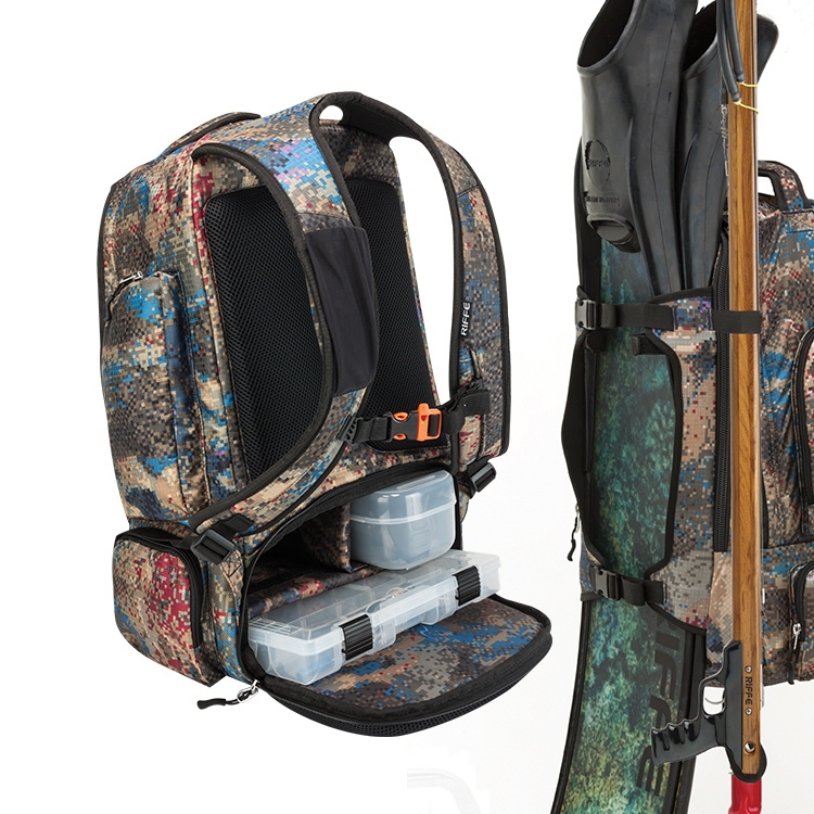 [BG-1030] RIFFE DRIFTER Utility Pack with Waterproof bag&Tackle Box